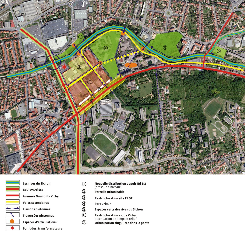 rénovation urbaine du quartier de Presles-Darcins