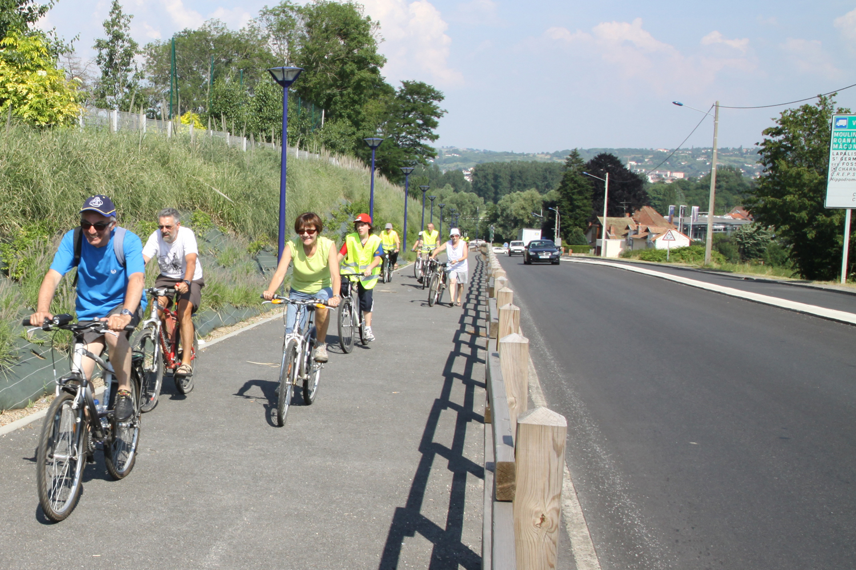 Extension des itinéraires cyclables et piétons